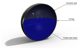 Armor Ball AQUA floating cover